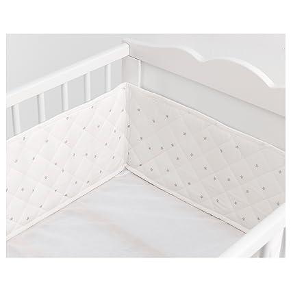 IKEA Baby paracolpi stelline Bianco/Grigio chiaro 120 x 60 cm ...
