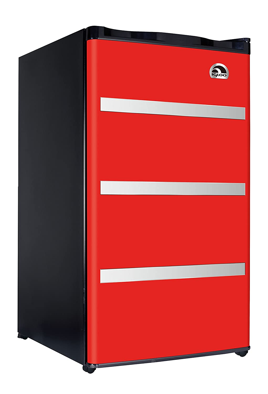 Amazon.com: Igloo FR329 Red Garage Fridge Tool Box, 3.2 Cubic Feet, Red:  Kitchen U0026 Dining