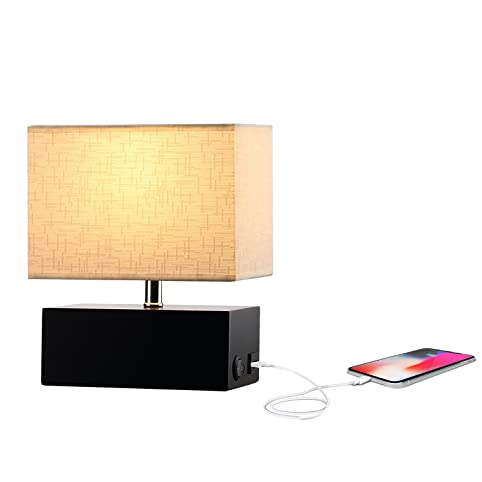 Wooden table lamp 5v2a usb charging port on off rocker switch wooden table lamp 5v2a usb charging port on off rocker switch greentooth Images