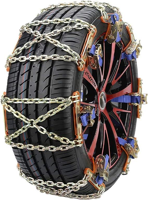 10pcs Neumático Dispositivo de tracción para nieve, barro y ...