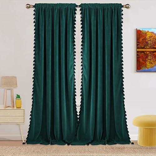 Velvet Curtains Contemporary Curtain