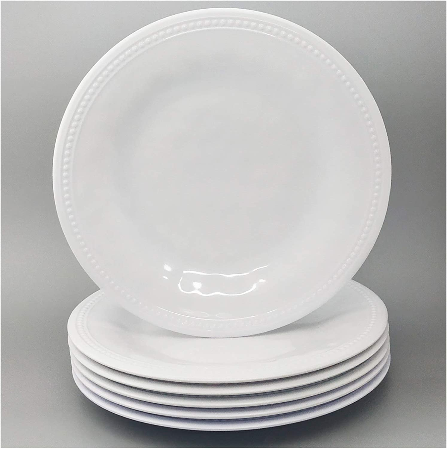White Dinner Plate、High-quality 12-in 100/% Pure Melamine