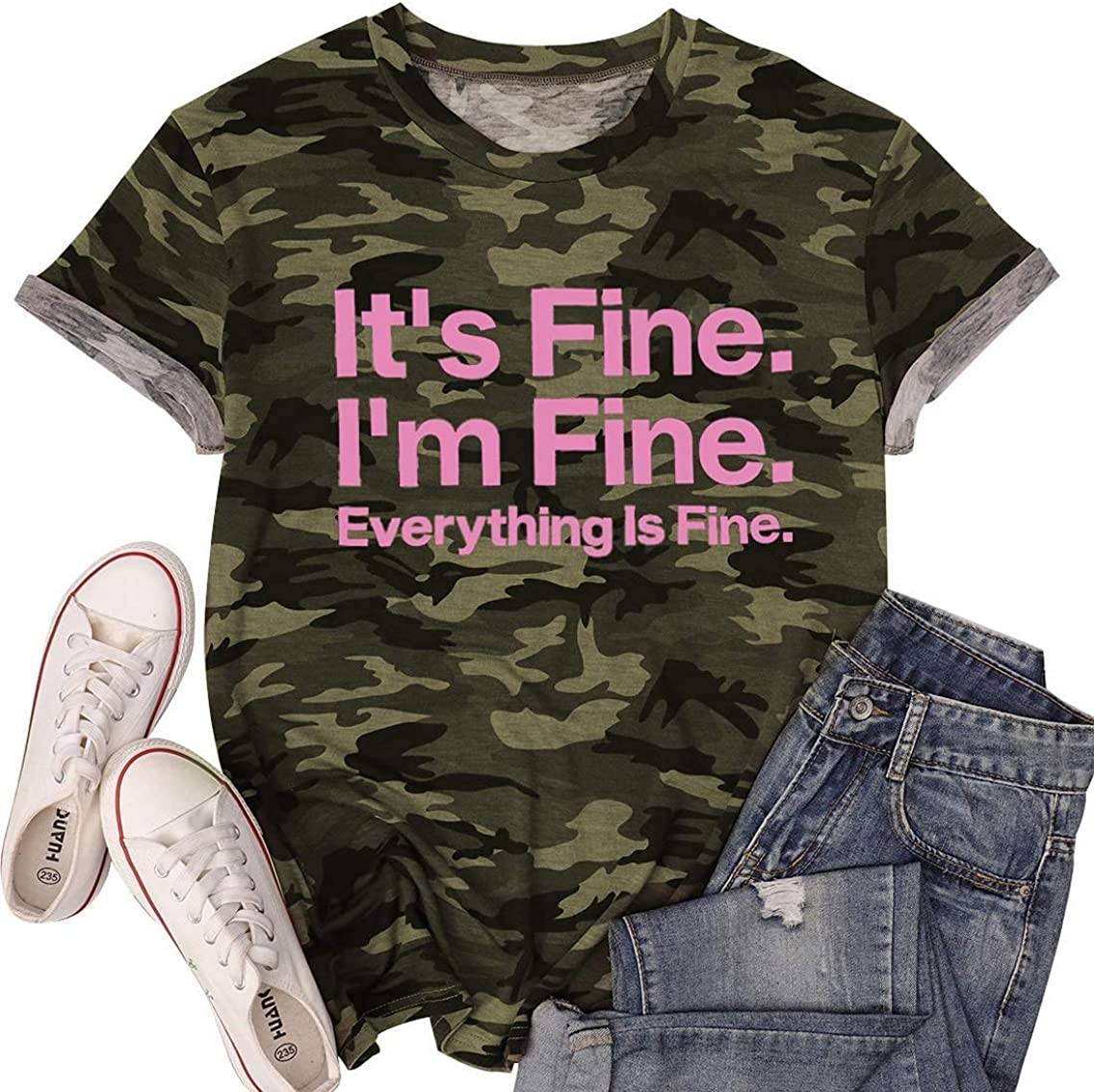 It's Fine I'm Save Popularity money Everything is Women for Inspiratio Shirt