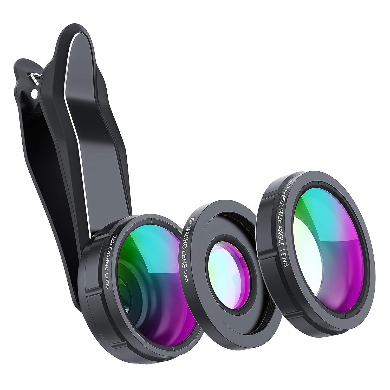 SKYVIK SIGNI 3 in 1 Mobile Camera Lens Kit, Super Wide: Amazon.in ...