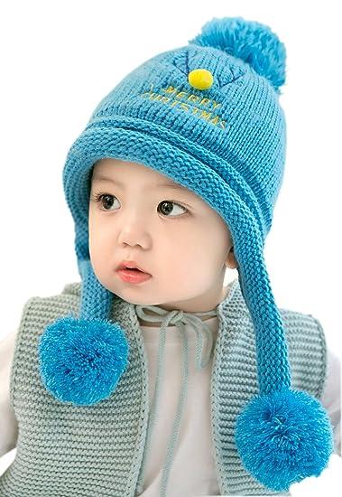 Amazon.com  GZMM Baby Earflap Winter Hat c0027ad83c9