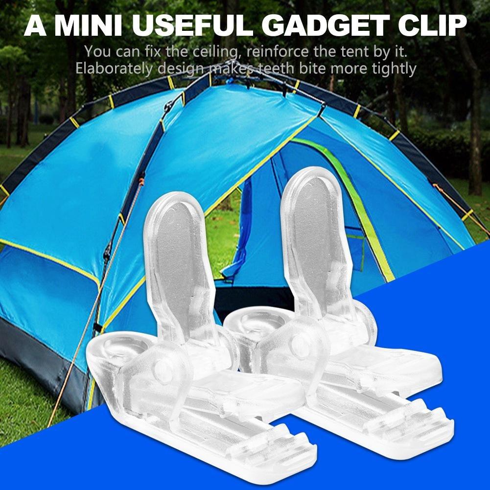 Zeltclips 20 St/ück//Packung Zelte Clip Haken Markise Windseil Klemme Zelt Pull Point Grip Zelt Zubeh/ör f/ür Outdoor Camping
