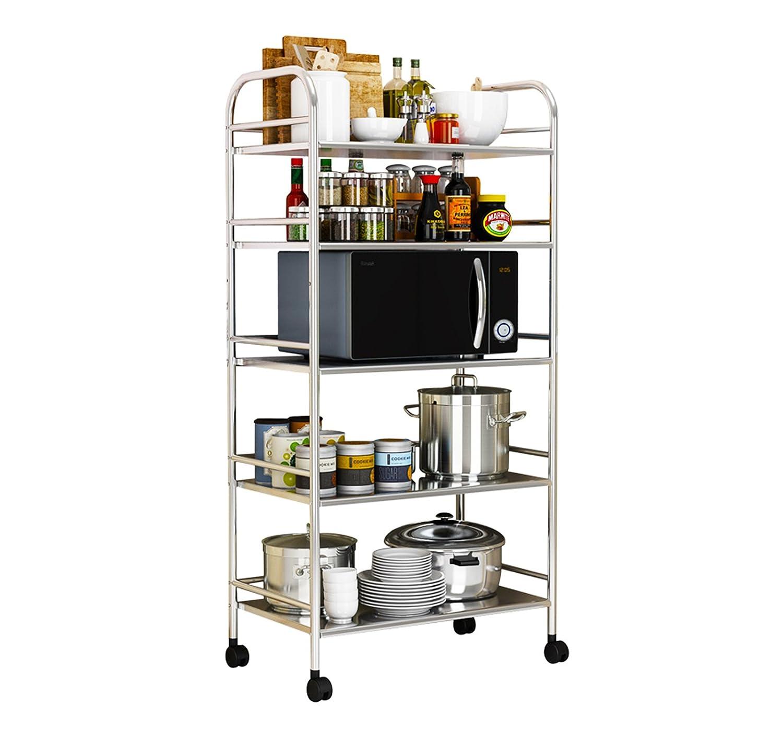 AcornFort K0106 5 Tiers Kitchen Storage Trolley (50cm wide) YOYO INFO UK LTD