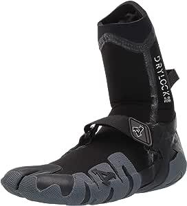 XCEL Drylock 5mm Split Toe Boot Fall 2017, Black/Grey, 8