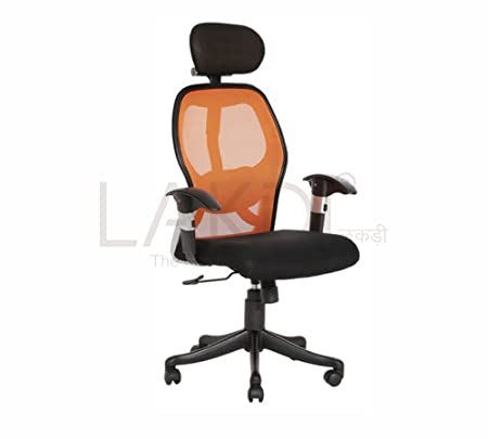 Lakdi Director, Executive High Back Office Chair with Lumber Support & Height Adjustment System MFN(134119_3)