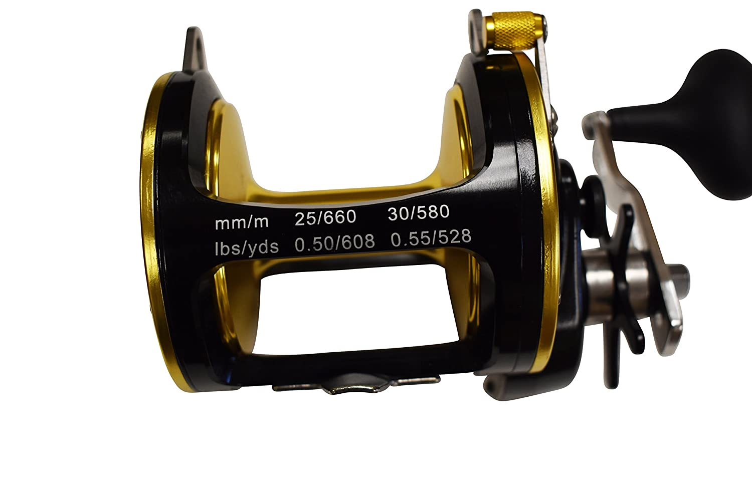 Offshore釣りリールby e-lusion 50 lb。クラス   B077H4FH51