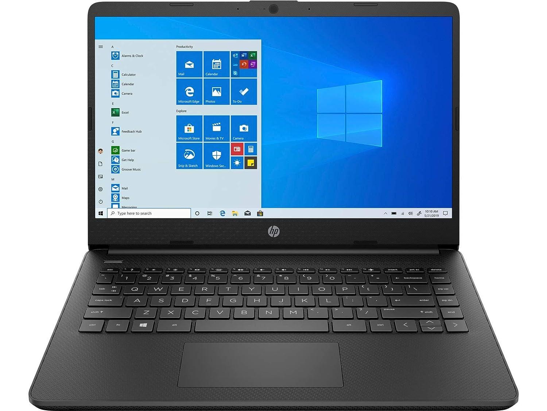 HP 14 (2021) Thin & Light 11th Gen Core i3 Laptop, 8 GB RAM, 256GB SSD, 14-inch FHD Screen, Windows 10, MS Office, Built-in Alexa