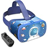 DESTEK VR Dream Kids VR Headset, Gift ideas for Kids, Explore the unknown, Anti-Blue Light Eye Protected HD Virtual Reality H
