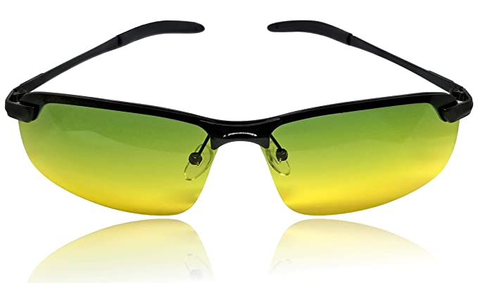 cea041d7653a UV400 HD TAC Polarized Trendy Sunglasses for Men - Superior Anti Glare  Quality Stylish Driving Glasses