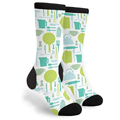 Amazon.com: Cocina Tools Calcetines Crew - Divertidos ...