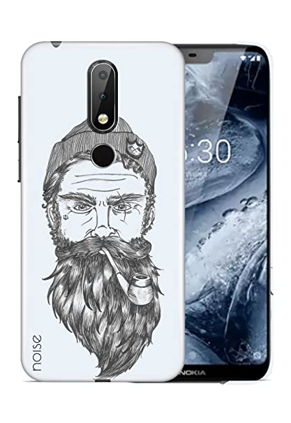 release date 745e8 3bd19 Noise Nokia 6.1 Plus Printed Case Cover: Amazon.in: Electronics