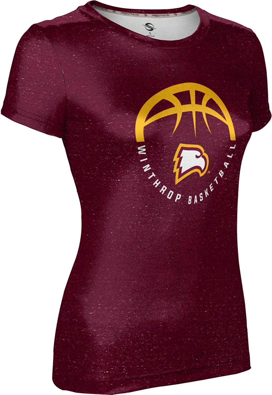 Heather ProSphere Winthrop University Basketball Womens Performance T-Shirt