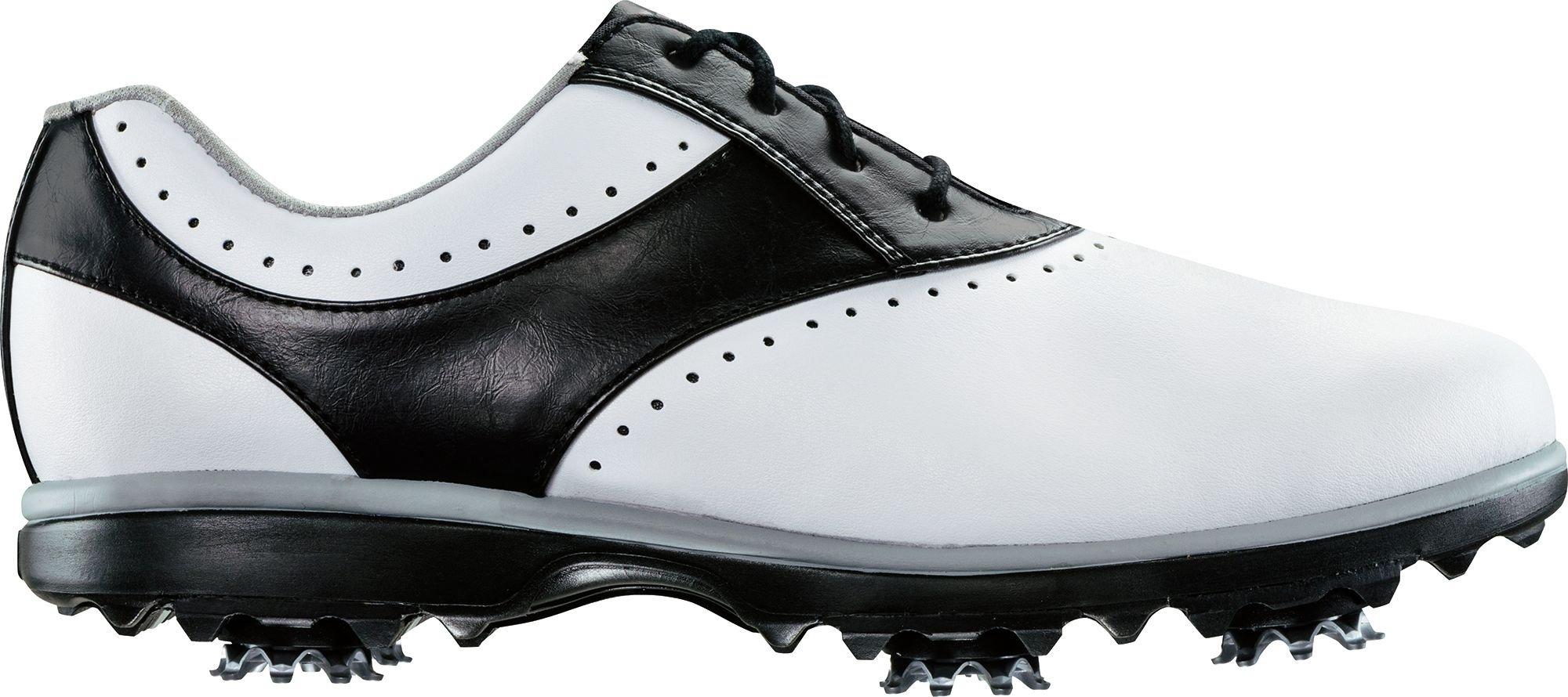 FootJoy Women's eMerge Closeout Golf Shoes 93900 (White/Black, 6.5)