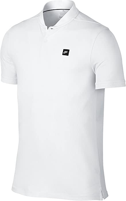 d06725ec6 Nike TR Dry Blade Men's Slim Fit Golf Polo Shirt, White, Medium. Back.  Double-tap to zoom