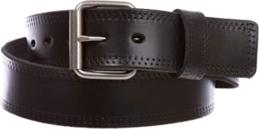 BELT GARRISON LEATHER 1 3//4 INCH Removable Buckle MADE IN USA ALL SIZES 30 to 60