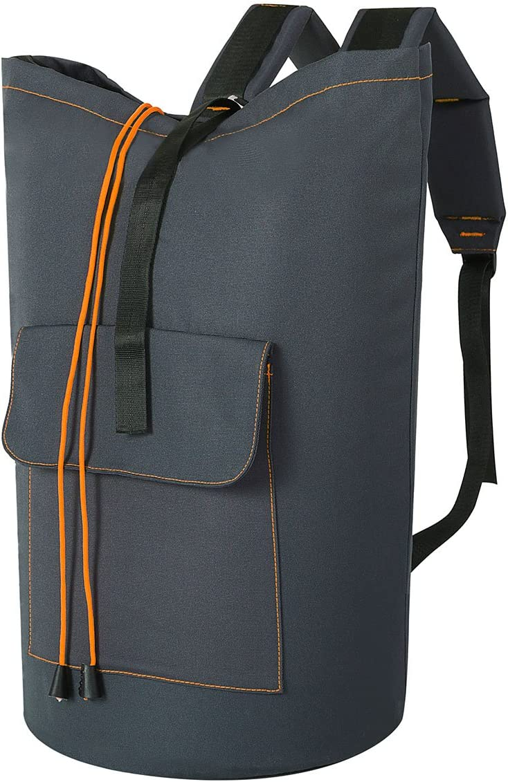 Extra Large Laundry Bag with Strap Laundry Backpack Hanging Laundry Hamper