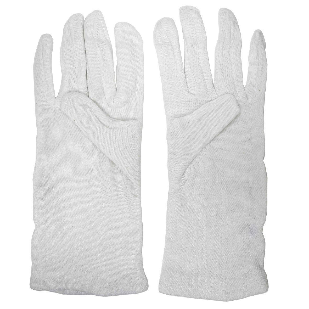 White Cotton Gloves (Lint Free) Mens Size - T83814 Walsh