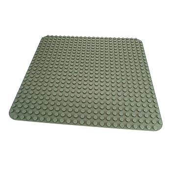 LEGO Bausteine & Bauzubehör 2 x Lego Duplo große Grundplatten in rot  24x24 Noppen