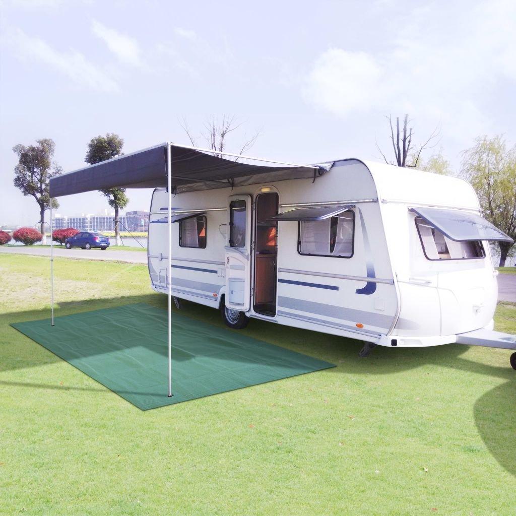 SENLUOWX Teppich-Boden bis Camping 250 x 600 cm grün