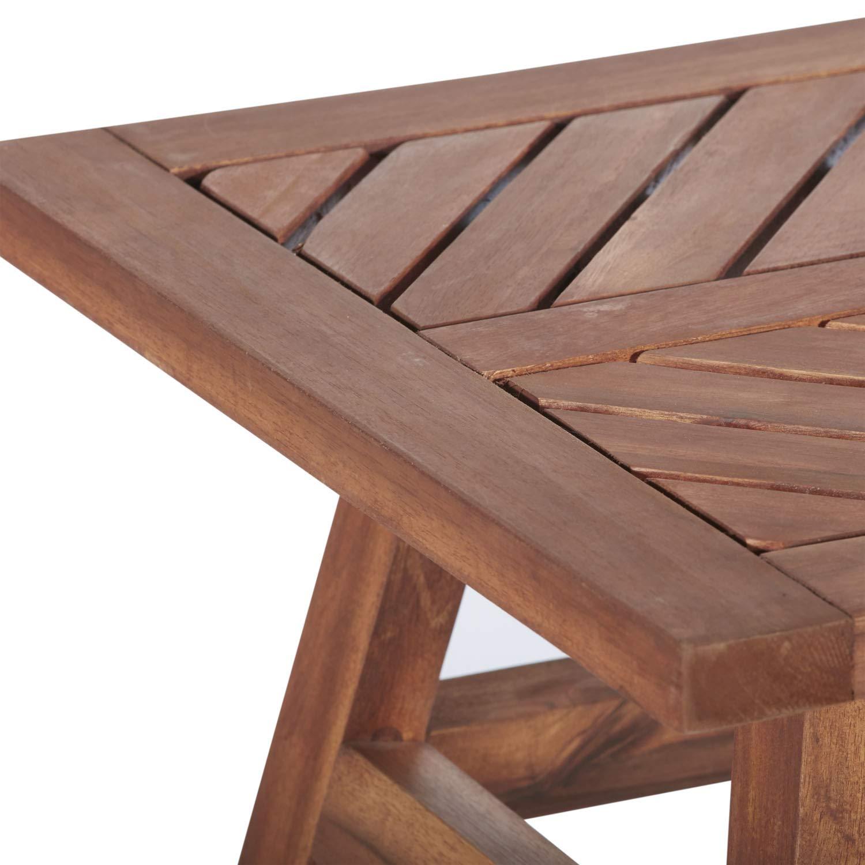 Amazon.com: Walker Edison Furniture Company - Mesa auxiliar ...