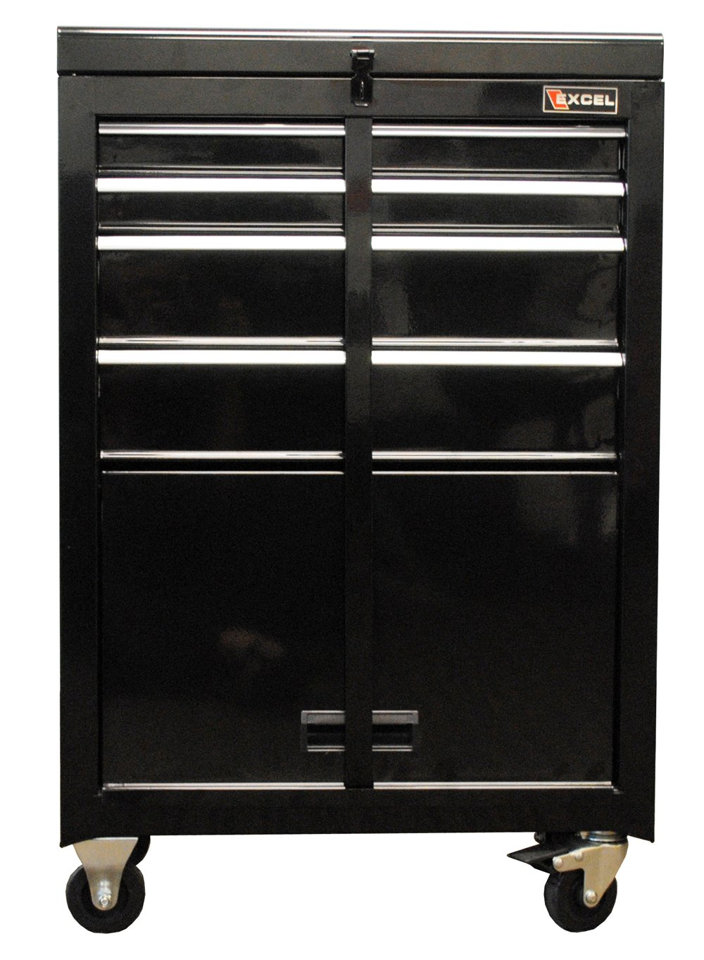 Ordinaire Amazon.com: Excel TB2201X Black 22 Inch Steel Chest Roller Cabinet  Combination, Black: Home Improvement