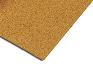 QEP 72001Q Natural Cork Underlayment 1/2 inch Sheet 150 sq. ft. (25 sheets)