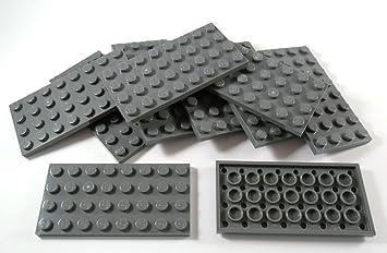 Lego Platte Platten schwarz    10 Stück Baukästen & Konstruktion