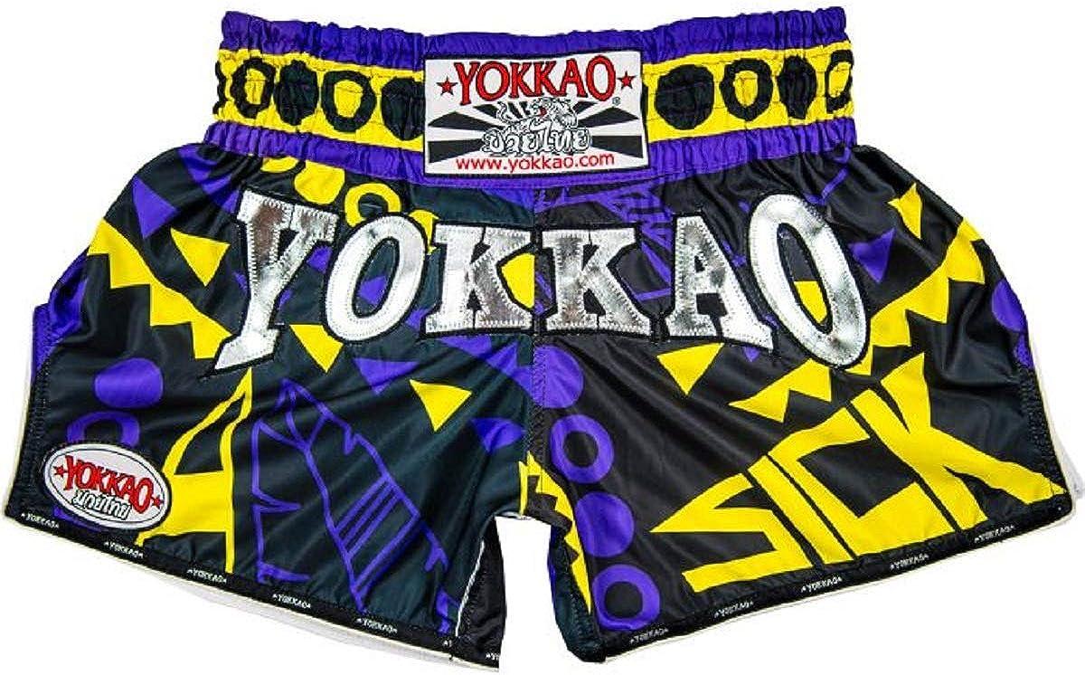 Many Styles /& Colors YOKKAO Muay Thai Boxing Shorts