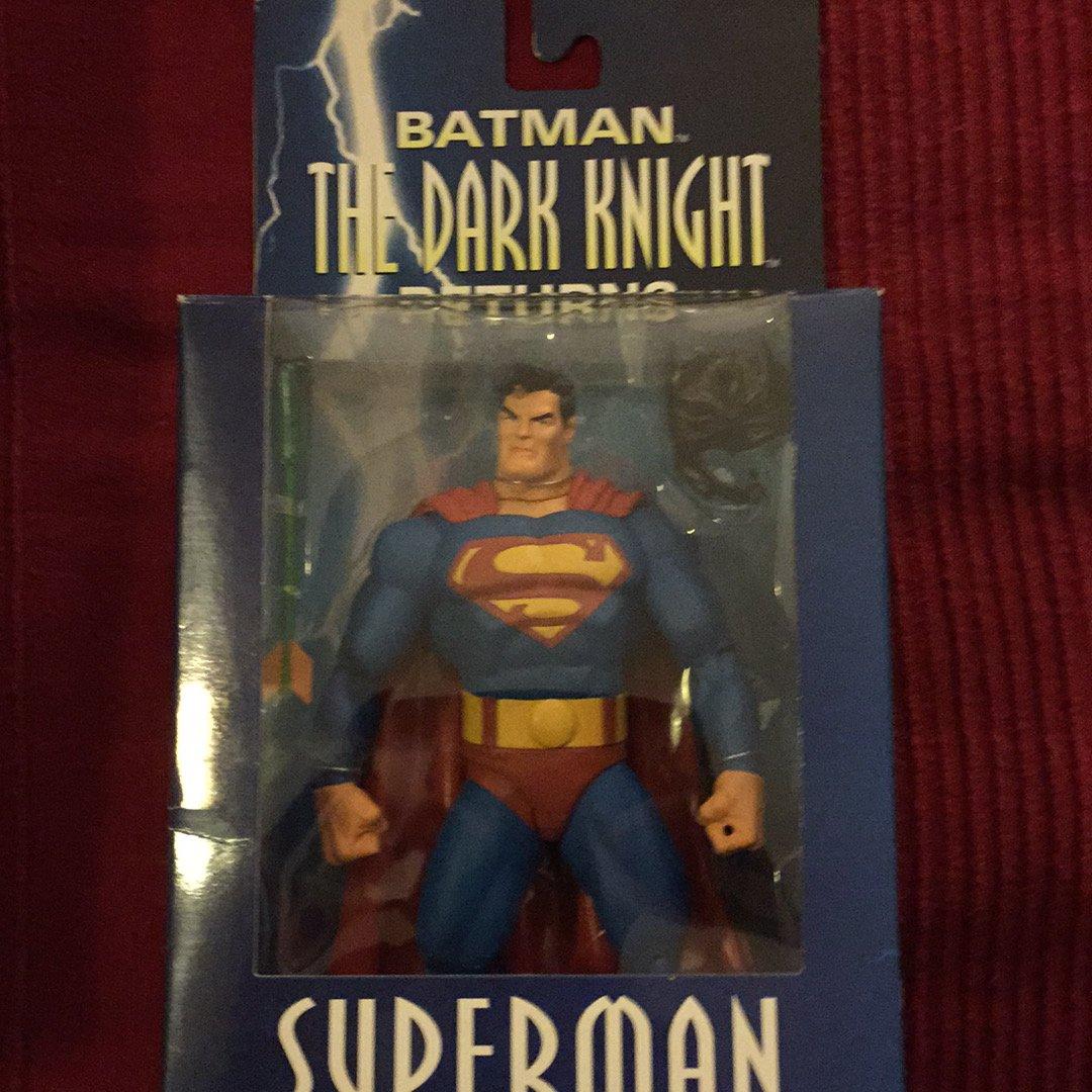 BATMAN DC Direct Dark Knight Returns Action Figure Superman