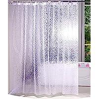 Kuber Industries PVC .20 MM Shower Curtain