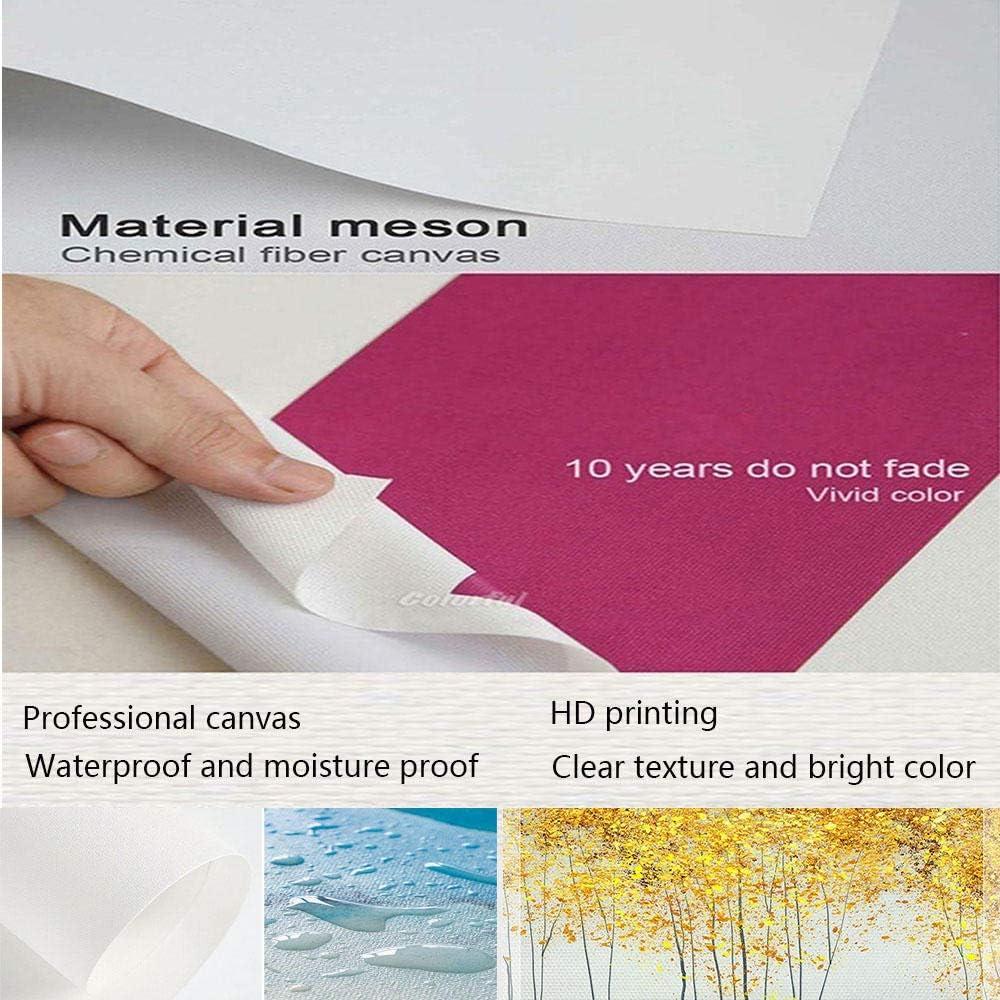 no brand Singe Animal Abstrait Toile Art Peinture Affiches et Impressions Mur Photo pour Salon D/écor-40x60 cm sans Cadre
