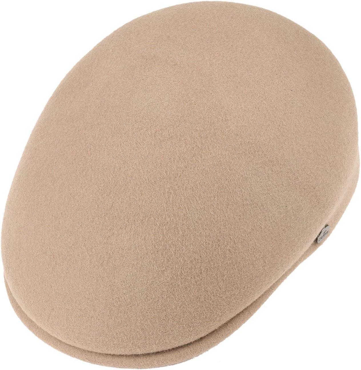 Flat Cap Lierys Mens Outdoor Flat Cap Made of Wool Felt Fall//Winter Sports Cap Water-Repellent /& Packable Flat Cap Cap Made in Italy