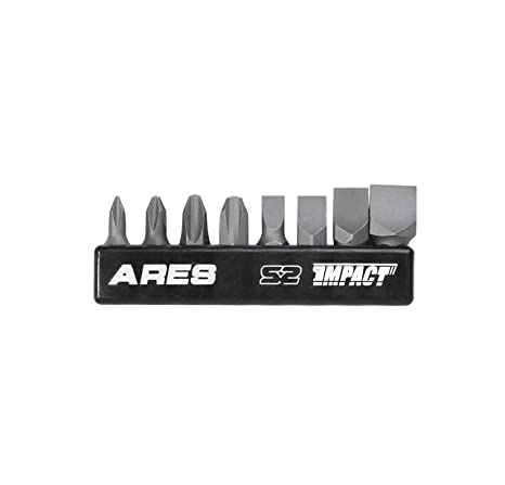 Amazon.com: 8-Piece S2 Acero atornillador de impacto Bit Set ...