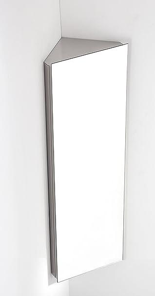 Reims 1 Tür 120 Cm Hoch X 38 Cm Breit Ecke Spiegel Badezimmer Hängeschrank