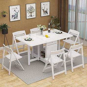 Petit Appartement Rétractable Pliant Salle Mode Simple Dinette À kTPOXZuwil