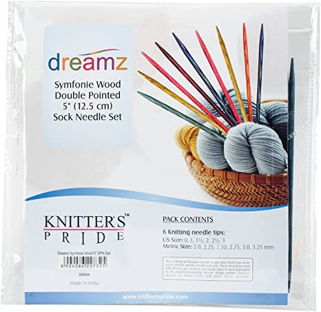 Knitters Pride KP200605 Dreamz Double Pointed Needle Socks Kit 6