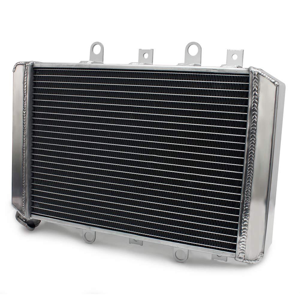 TARAZON ATV Engine Water Cooling Cooler Aluminum Radiator for Yamaha Grizzly 550 700 YFM550 YFM700 2009 2010 2011 2012 2013 2014