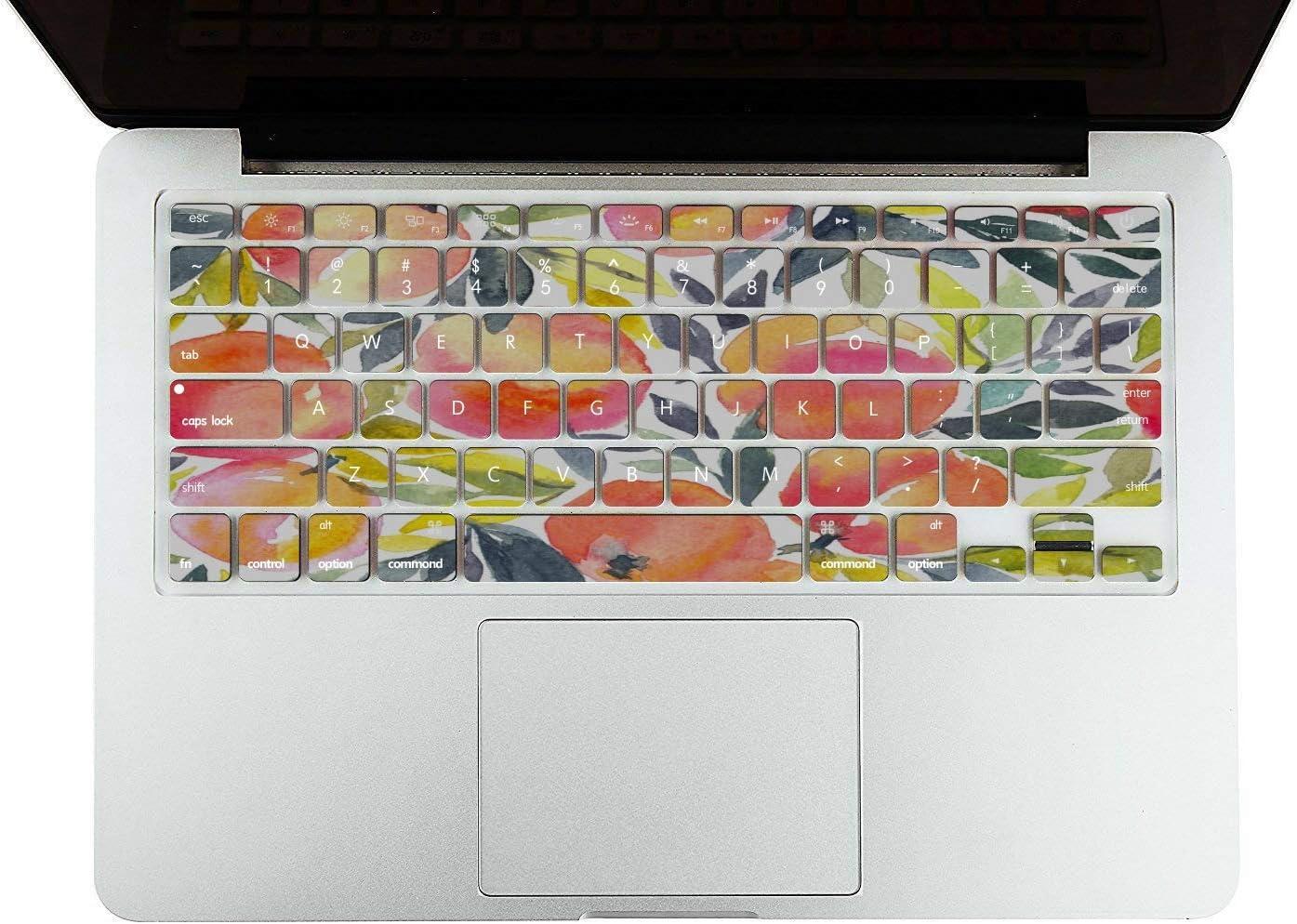 MacBook Air Case 13 Summer Pink Creative Fruit Peach Plastic Hard Shell Compatible Mac Air 11 Pro 13 15 MacBook Air 13 Case Protection for MacBook 2016-2019 Version