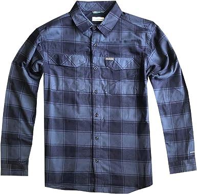 Columbia Kestrel Trail Omni-Wick Camisa de Manga Larga a Cuadros para Hombre: Amazon.es: Ropa y accesorios