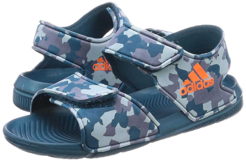 Adidas - Altaswim - Color: Grey-Blue - Size: 13.0US: Amazon ...