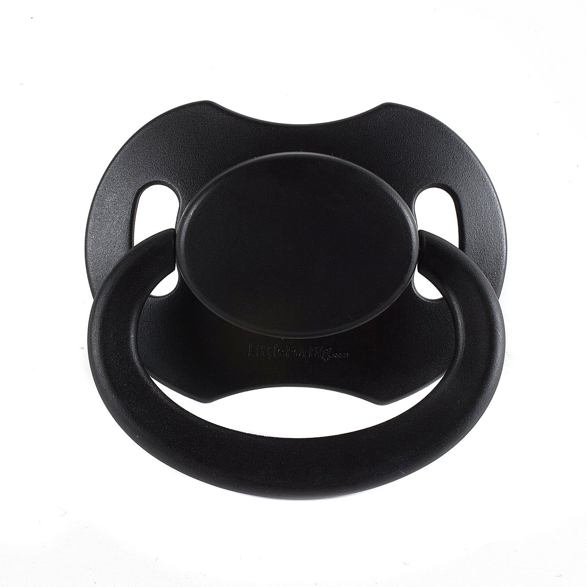 LittleForBig Bigshield Generation 2 Adult Sized Pacifier Dummy for Adult Baby ABDL-Black
