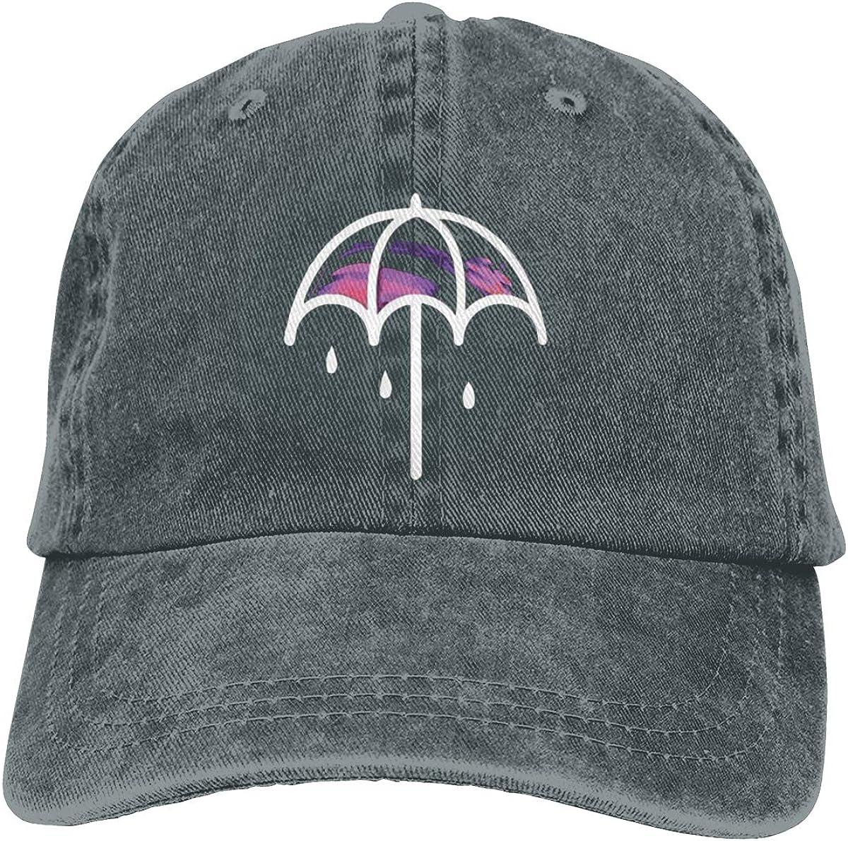 Zlizhi Leisure Bring Me The Horizon Umbrella Men Women Plain Cotton Adjustable Washed Twill Low Profile Baseball Cap Hat
