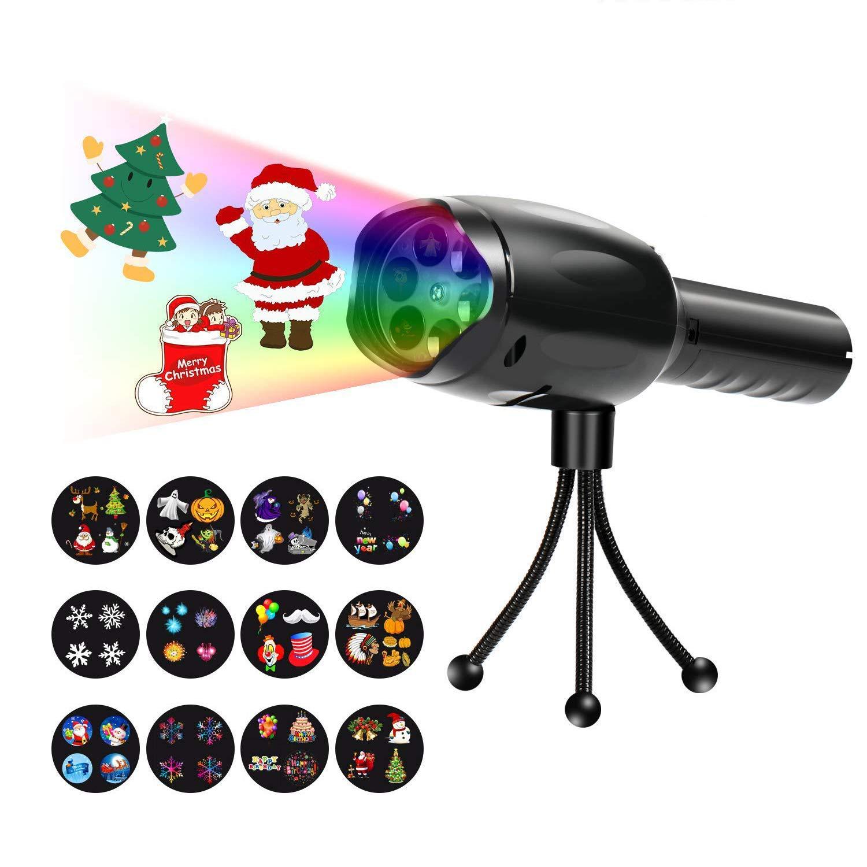 Luces Proyector Navidad LED, Apark Linterna para Niños Navidad ...