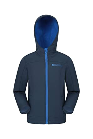 fc57fccbec61 Amazon.com  Mountain Warehouse Exodus Kids Softshell Jacket -Wind ...