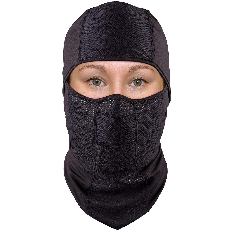 Apparel Accessories Smart Men Unisex Winter Thicken Polar Fleece Balaclava Neck Warmer Solid Motorcycle Face Mask Windproof Helmet Liner Adjustable Cover