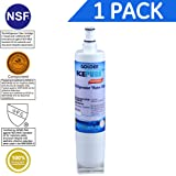 Golden Icepure RWF0500A 1PACK Compatible with Whirlpool 4396508, 4396510,Filter 5,EDR5RXD1,NL240V,WFL400 Refrigerator water filter